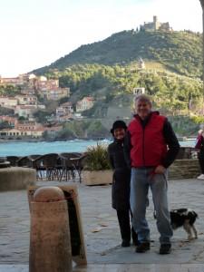 ken & Lynne in collioure