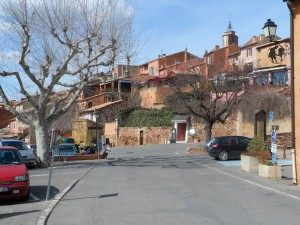 Roussillon,the town