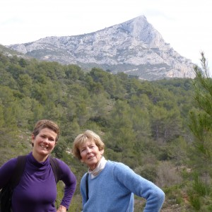 hiking Sainte-Victoire