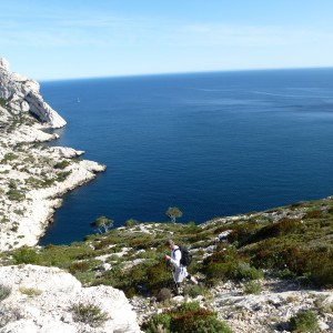 Ken in the Calanques