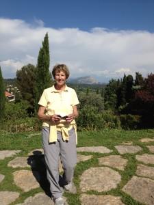 Karen - in Cezanne's footsteps