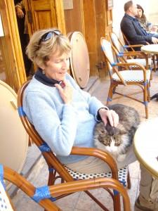 karen and the cat