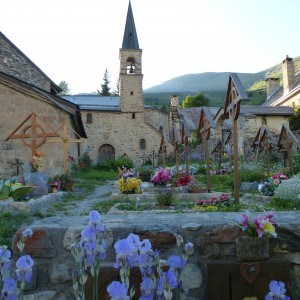 The church at La Grave