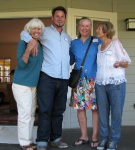Evy, Nick, Tina, Karen Mothers for Peace